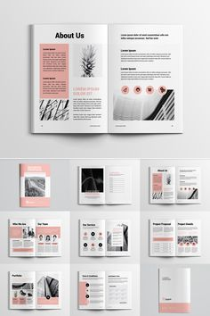 Project Proposal Corporate Identity Template #Corporateidentity #Proposal #Project #Corporate