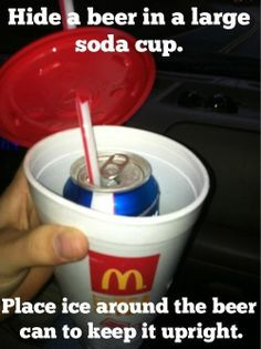 saving my mcdonalds cups