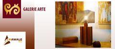 Visitez la Galerie ARTE:https://awalebiz.com/fr/galerie-arte/  Art africain contemporain  Design, meubles et objets  Artisanat d'art d'Afrique