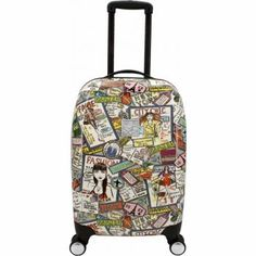Fashionista hard shell luggage.  We have this now!