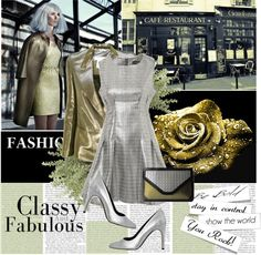 """Metallic Fashion"" by designsbytraci on Polyvore"