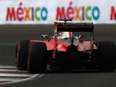 Sebastian Vettel used a 'lot of sign language' and a lot of swearing as he felt robbed of a podium result in Mexico, only to be handed P3 through Max Verstappen's penalty.