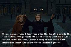Minerva McGonagall.