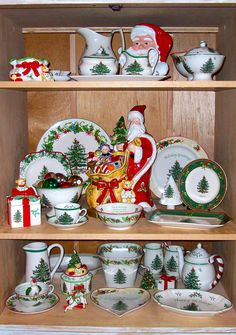 My Spode Christmas Tree collection.
