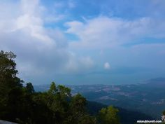 View of Langkawi island from its highest peak Gunung Raya