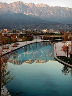 Paseo Santa Lucia in Monterrey N.L. Mexico. Hopefully one day I can go visit again. Nancy/GP
