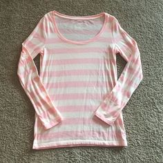 American Eagle Favorite Tee New Sz M Brand new without tags American Eagle long sleeve tee. Size Medium. Pink and super soft. American Eagle Outfitters Tops Tees - Long Sleeve
