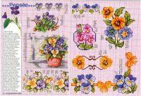 """Gallery.ru / tymannost - Альбом """"Encyclopedie du point de croix ( Fleurs arbres et feuilles )"""""""
