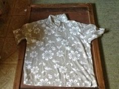 Lakeside Homestead : Skirt from a men's XL shirt