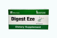 دايجست ايزي Digest Eze Capsule Toothpaste Care