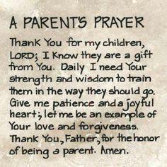 Prayer for my kids