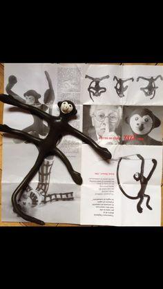 Zizi The Monkey Bruno Munari Toy. Vitali, Niklova Era RARE | eBay