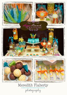 Safari Themed Candy Buffet