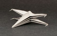 origami x-wing instructions, maybe put the instructions on the table for guests to try!