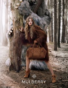 """MULBERRY Autumn Winter 2012 Collection - """"Where the wild things are"""" movie inspiration. Bộ sưu tập Thu - Đông 2012 của Mulberry"""