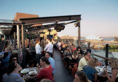 The Glenmore Hotel rooftop bar - Syndey, Australia.