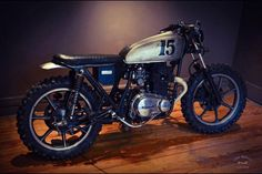 Kawasaki Brat Style #motorcycles #motos #bratstyle | caferacerpasion.com