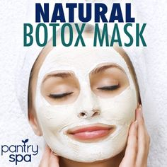 Natural Botox: Dr Oz Wrinkle Cure Treatment & Botox Mask from Natural Skin Care Recipes Book Beauty Care, Beauty Skin, Diy Beauty, Beauty Hacks, Face Wrinkles, Prevent Wrinkles, Manicure E Pedicure, Tips Belleza, Beauty Recipe