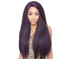 Amazon.com: ISIS Brown Sugar Human Hair Blend Soft Swiss Lace Front Wig - BS213 (F1B/30): Beauty