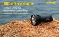 NITECORE TM16GT 4X CREE XP-L HI V3 LED FLASHLIGHT- 3600 LUMEN