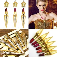 Find More Lipstick Information about High Quality Brand Lipstick Lapiz Labial…