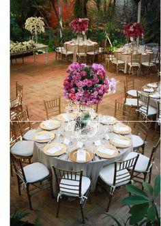Elegantes centros de mesa Bougainvillea San Miguel, México. Boda San Miguel de Allende www.bougainvilleabodas.com.mx