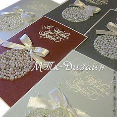 Открытки жемчужные - Новый Год,Открытка ручной работы,открытка,Открытка на новый год