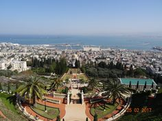 Inspiring & relaxing - Review of Baha'i Gardens and Golden Dome, Haifa, Israel - TripAdvisor
