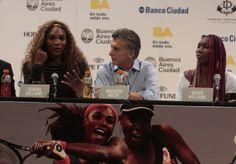 Distinguimos como Huésped de Honor de la Ciudad de Buenos Aires a las tenistas estadounidenses Venus y Serena Williams.