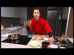 Rollitos tempura de cerdo.avi - YouTube Tempura, Teriyaki Salmon, Chef, Yummy Yummy, Apollo, Asian Recipes, Carne, Sushi, Seafood