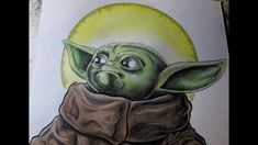 Showing you guys the inking technique I'm doing to finish up the first drawing of the year Baby Yoda! Also, a sneak peek at the next big drawing. Zombie Art, Crushes, Eat, Drawings, Sketches, Drawing, Portrait, Resim, Draw