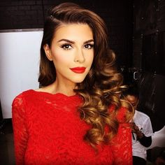gorgeous hair and make up