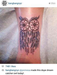 Beautiful tattoo... looks as 2 become one