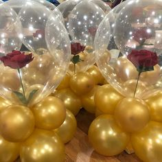 Beauty & the beast bday party - mottoparty - Beauty And Beast Birthday, Beauty And The Beast Theme, Beauty And Beast Wedding, Quince Decorations, Balloon Decorations, Birthday Decorations, Wedding Decorations, Birthday Centerpieces, Diy Quinceanera Decorations