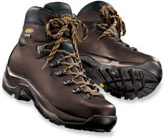 We love these waterproof men's boots for their wider foot bed and good arch support. (Amy's recommendation)