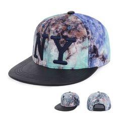 New NY Embroidered Nebula Starry Hip Hop Dancer Skate Baseball Hat Snapback Cap #Goldtop #BaseballCap Nebula, Hip Hop, Snapback Cap, Baseball Cap, Stylish, Hats, Baseball Hat, Hat, Hiphop