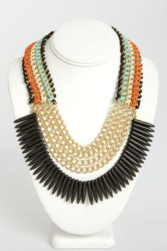 Tribe and True Layered #Necklace #tribal Get 7% Cash Back http://www.studentrate.com/itp/get-itp-student-deals/lulu-s-Student-Discount--/0