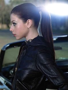 Michelle Trachtenberg fantastic ponytail alabaster refined features elegant cute sexy