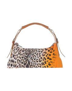 JUST CAVALLI Handbag. #justcavalli #bags #shoulder bags #hand bags #leather #hobo #cotton #