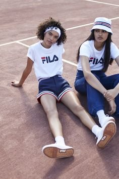 FILA + Urban Outfitters' tennis-inspired collab is too good to give up.