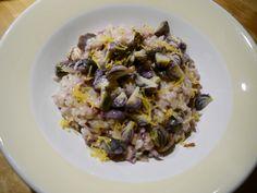 risotto met spruitjes