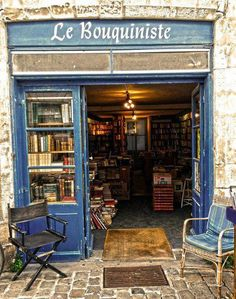 Le Bouquiniste - La Rochelle - France.  Go to www.YourTravelVideos.com or just click on photo for home videos and much more on sites like this.