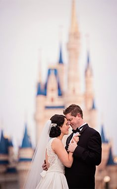 """It's always an extra special day when one of our very own at Disney's Fairy Tale Weddings & Honeymoons says """"I do""""!"""