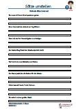 Arbeitsblätter / Übungen / Aufgaben für den Rechtsschreib- und Deutschunterricht - Grundschule.  Es handelt sich um 105 Sätze, die auf 15 Arbeitsblätter verteilt sind. Die Sätze sollen 2 - mal umgestellt und aufgeschrieben werden.  Wortschatz 3.Klasse - Grundschule. Das aktuelle Übungsmaterial enthält genau die Anforderungen, die in der #Deutsch #Schularbeit / Schulprobe / Schulaufgabe und #Klassenarbeit abgefragt werden.