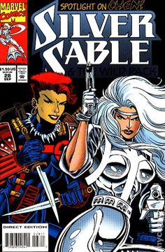 Silver Sable and the Wild Pack (1992) 28