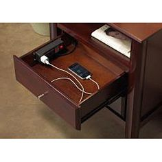 Keep Organized In Style With This Brilliant Nightstand Features Two