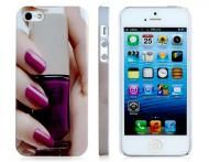 Price $14.99 FeatureDesigned to precisely fit the contours of the iPhone 5 Ultra slim with an open-face design for ease of operation Nail varnish prin...