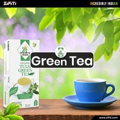 Order #GreenTea, The healthiest #beverage on the planet to Improved brain function.Buy green tea with lemon honey mix or select green tea with tulsi or a long leaf green tea, the wide range of green tea products available online now on Zifiti.com Organic Green Tea, Brain, Beverages, Lemon, Honey, Range, Indian, Products, The Brain