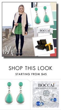 """""""Boccai 1"""" by ramiza-rotic ❤ liked on Polyvore featuring boccaiearrings"""
