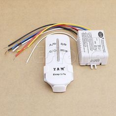 1 SET  New 220V Wireless ON/OFF 3 Ways Lamp Remote Control Switch Receiver Transmitter